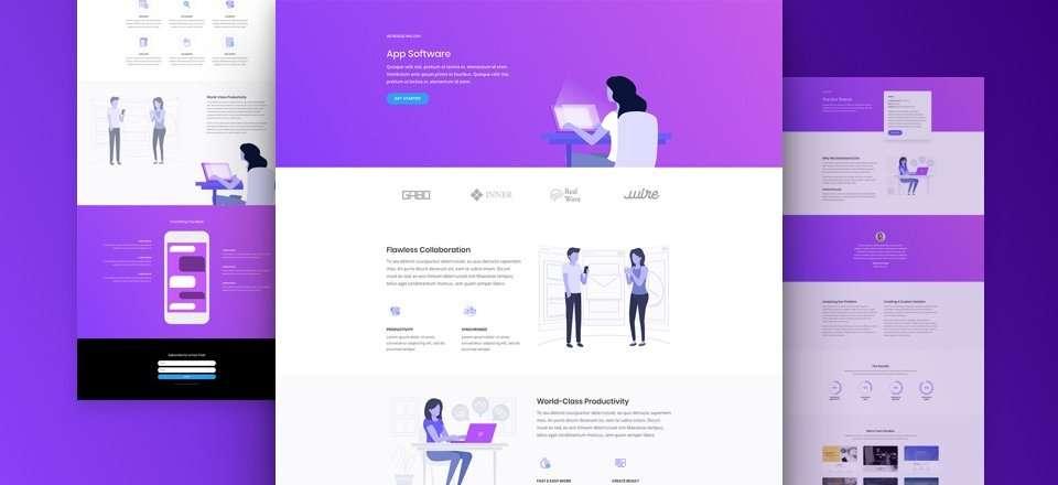 Divi theme template - sunshine coast web designer
