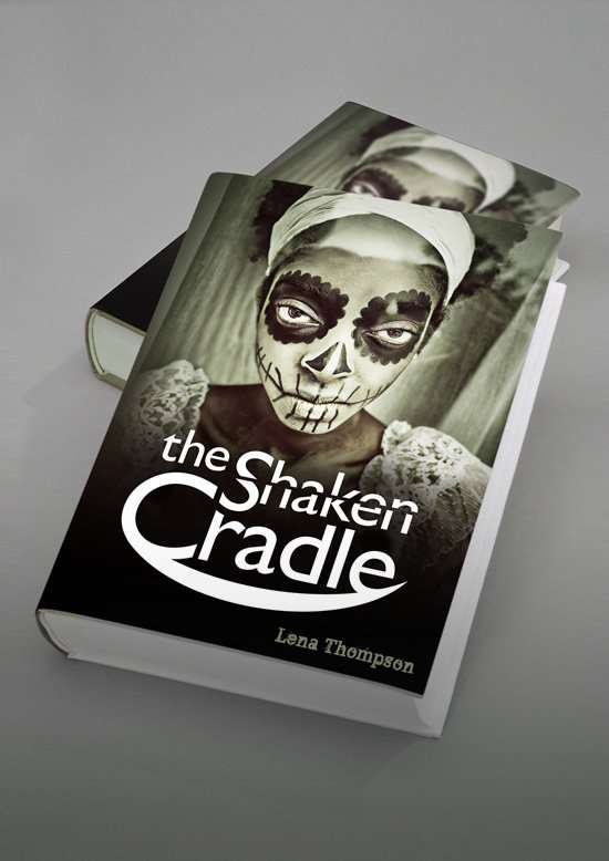 The Shaken Cradle - Book cover design - Sunshine Coast and Sydney