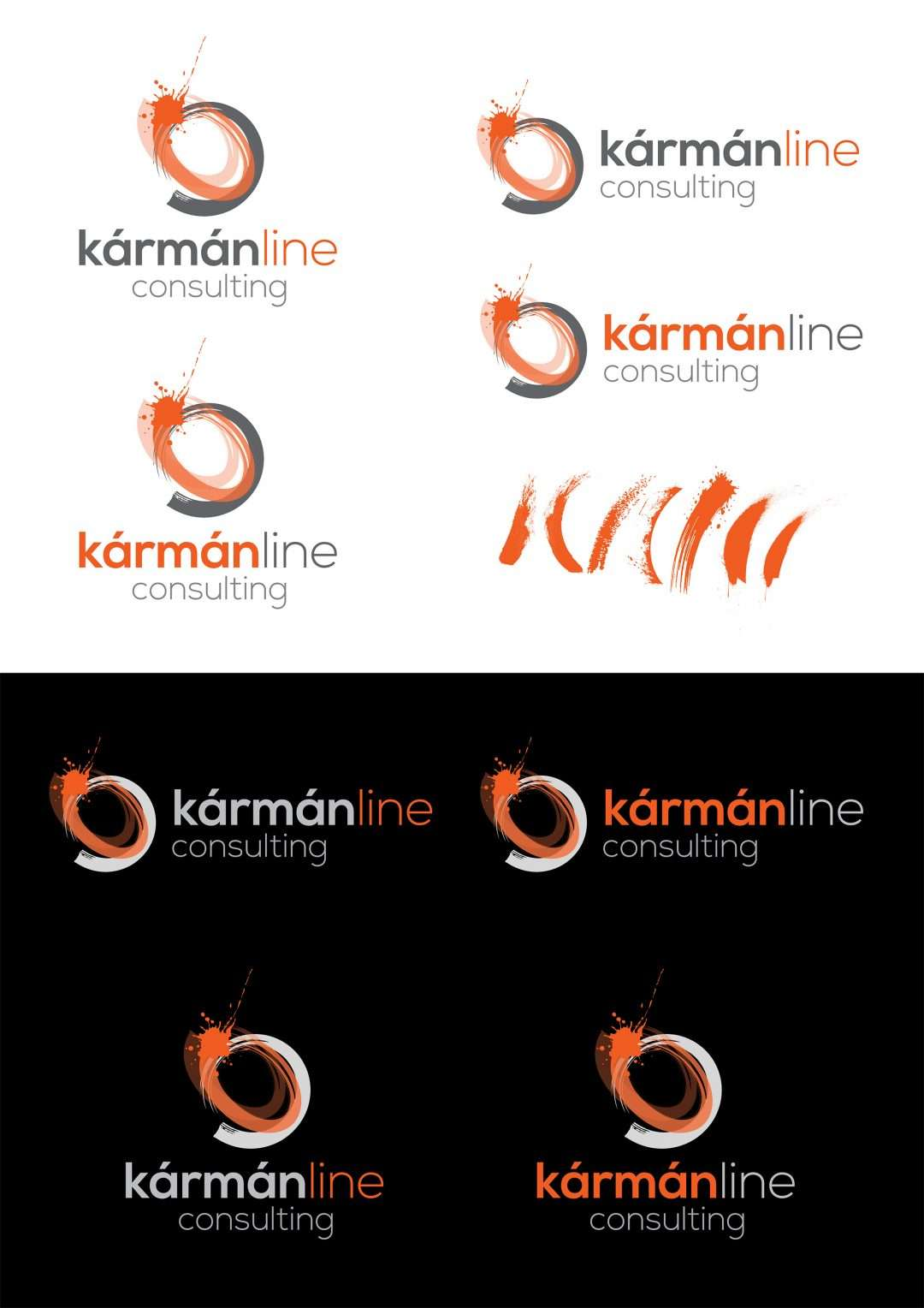 karman line - style sheet for logo - Sunshine Coast
