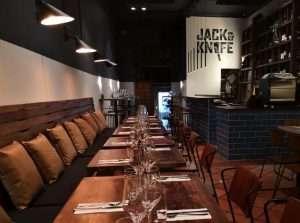Logo design Jack and Knife restaurant