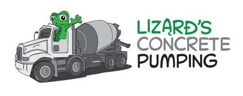 Concrete Pumping - Caloundra - logos and illustrations