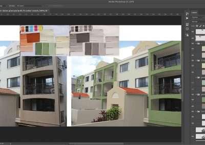 Photoshop Sunshine Coast – Paint colour selection