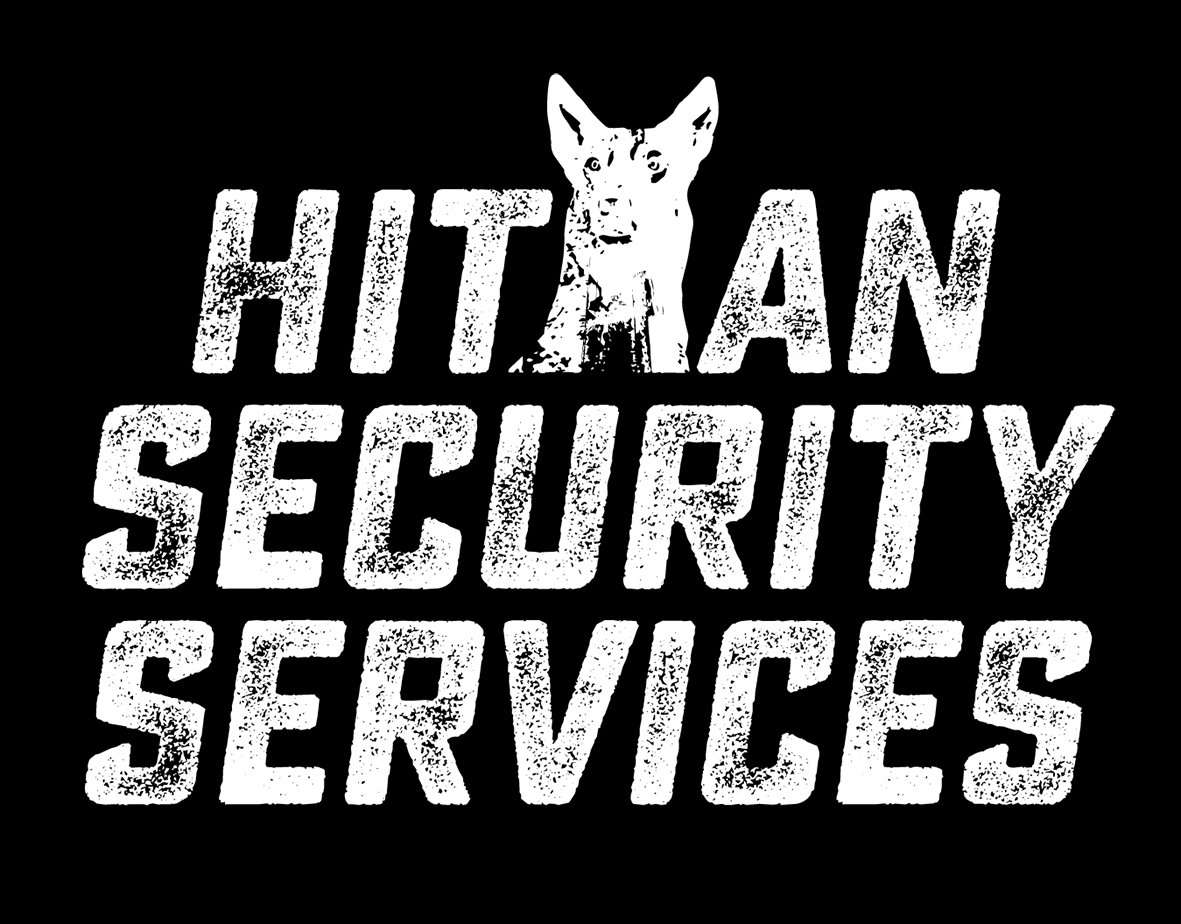 Security Guard logo - Hitman Security Services - Sunshine Coast Designer