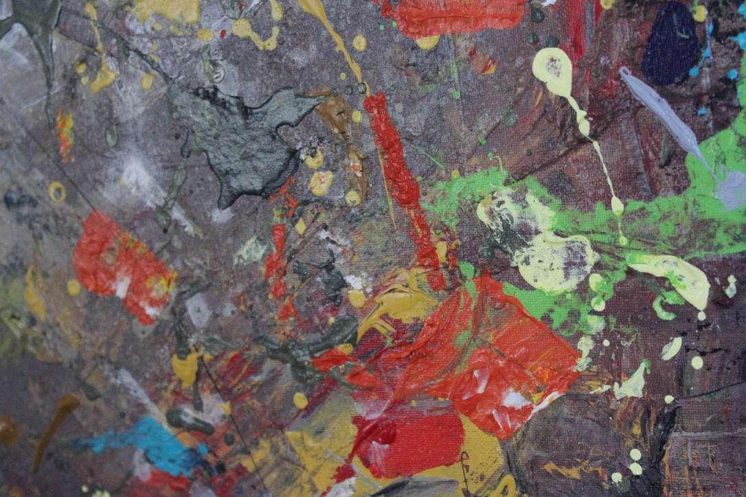 Acrylic canvas painting - Sunshine Coast artist