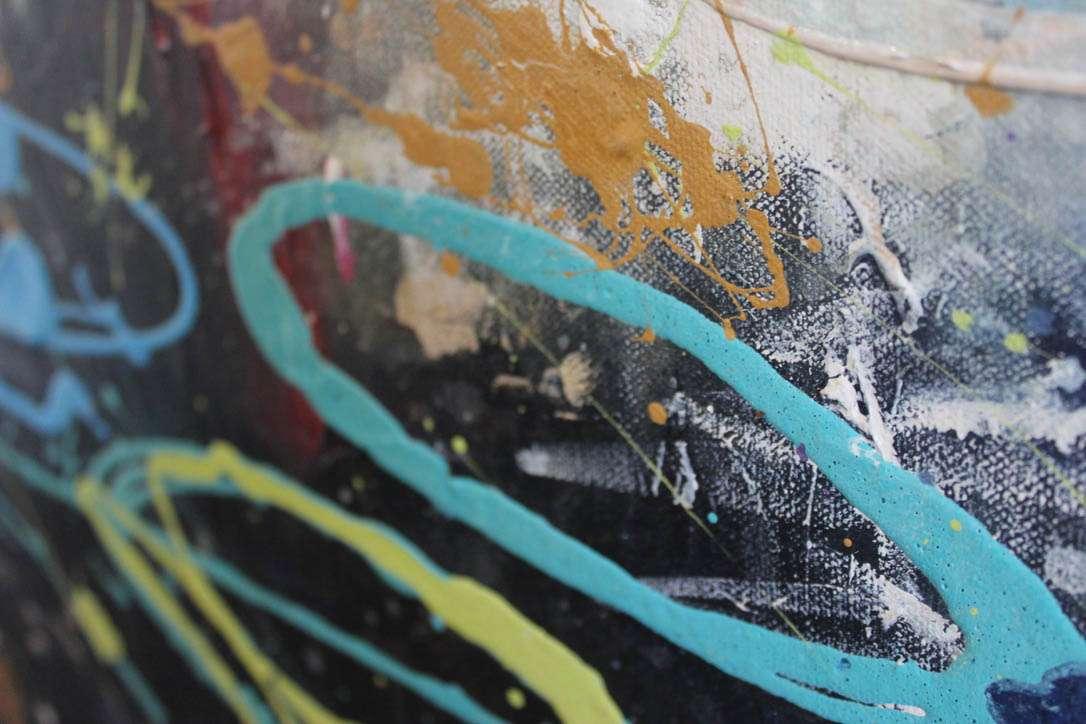 Acrylics - canvas painting - Sunshine Coast artist