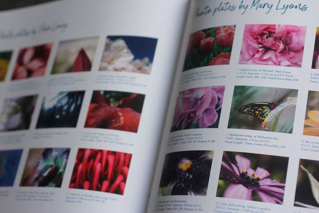 Credits Photography book