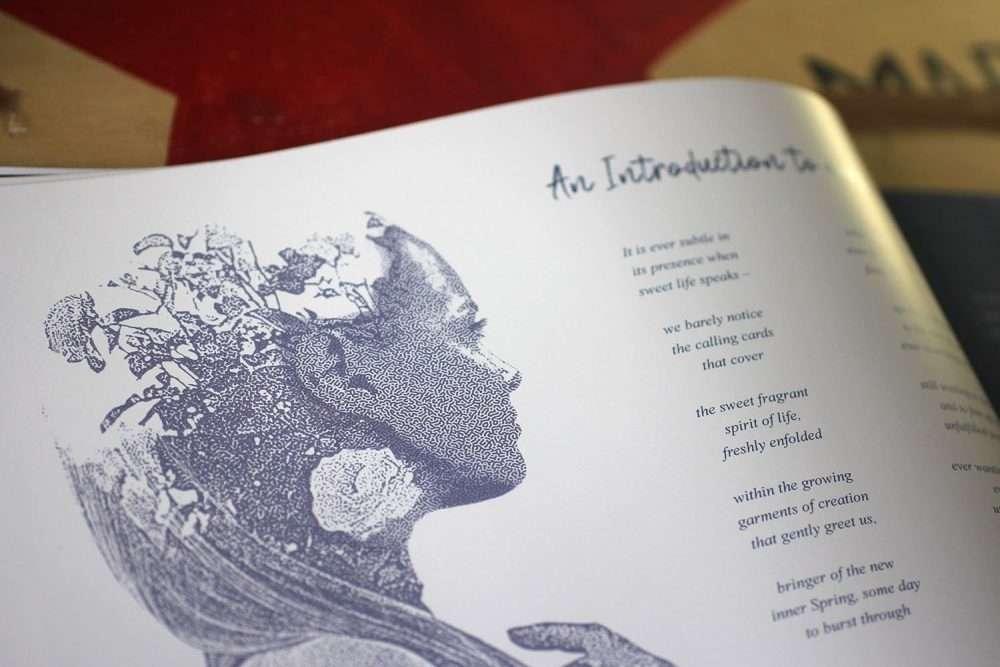 Turing pattern effect in Photoshop - Index page design - Premium Sunshine Coast book designs