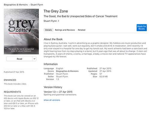 Grey Zone lymphoma free ebook
