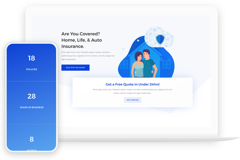 Web page design with Divi - Brisbane
