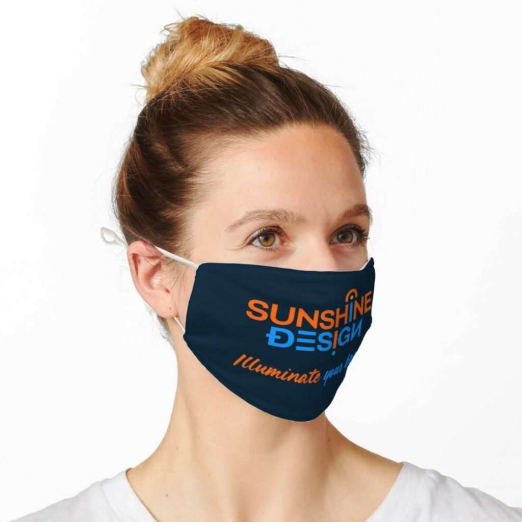 Branded face masks - Sunshine Coast