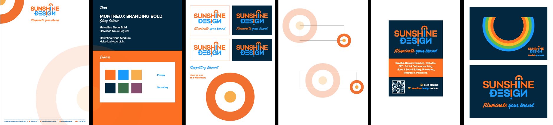 Style guide for logos and branding - Sunshine Coast graphic designer